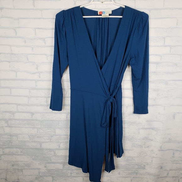 Free People Beach wrap dress cover up Large
